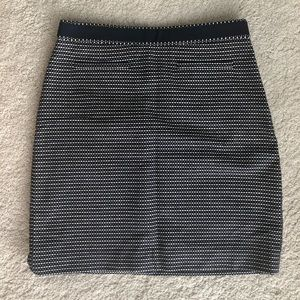 Navy and white Brooks Brothers skirt size 6